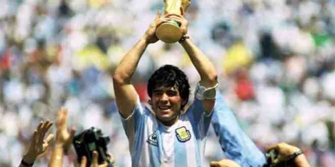 Football Legend, Diego Maradona waves goodbye to the world