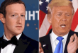 Facebook, Instagram Bans Trump From Posting Till End of His Tenure