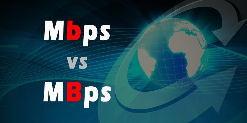Quelle est la différence entre Mbps et MBps ?