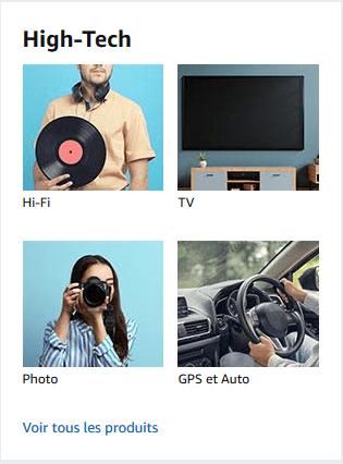 Promotions produits High Tech 2020
