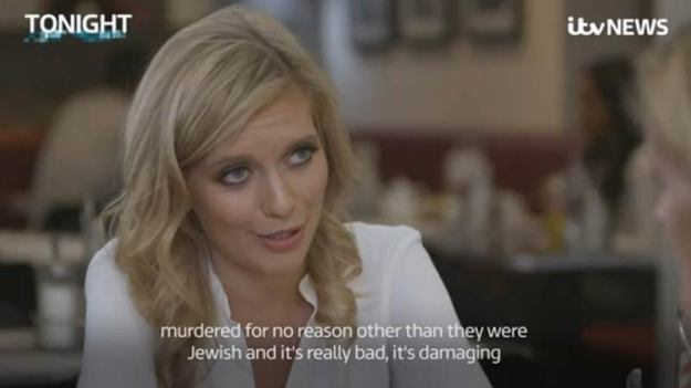 Rachel Riley lying about the Holocaust