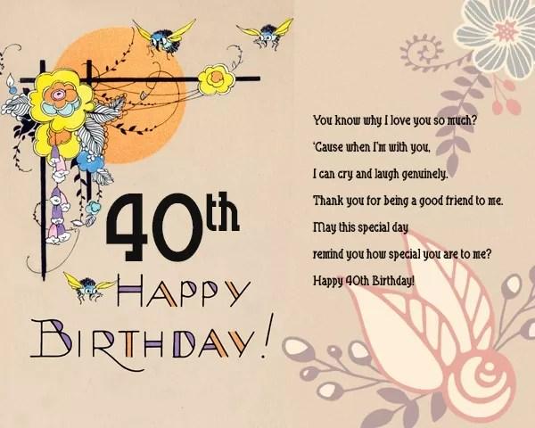 120 best happy 40th