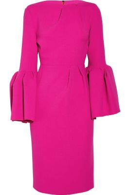 Roksanda bell sleeve dress