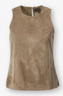 lipsy suede top