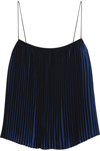 Dion lee pleated top