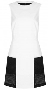 Topshop sporty mesh dress