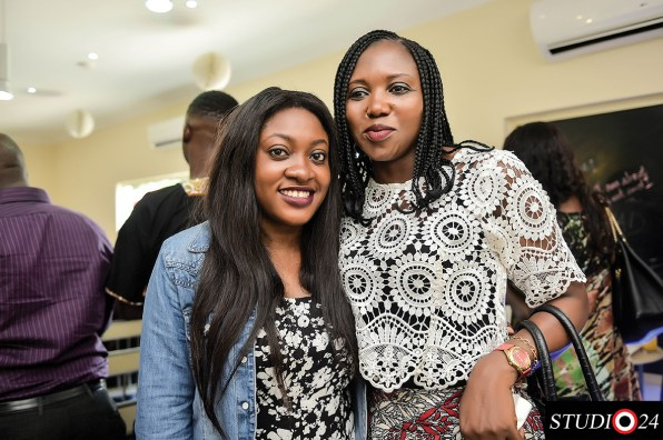 Yetunde with Carol Ahrere