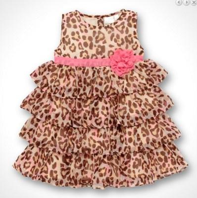 kids fashion 1---Animal print dress