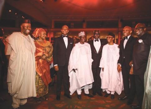 Godswil Akpabio, Kennedy Uzoka, Simon Lalong, Phillips Oduoza, Malam Nasir el-Rufai, Tony Elumelu and Okezie Ikpeazu
