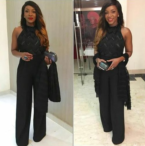 Genevieve-Nnaji at Florence Ita Giwa 70th birthday