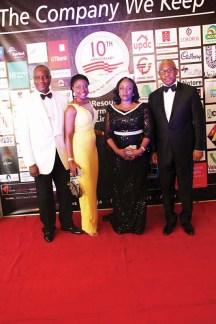 L-R Olusoji Oyawoye(MD:CEO RIL), Bisi Soji-Oyawoye, Mrs Morenike Alex-Okoh with Alex Okoh Chairman RIL
