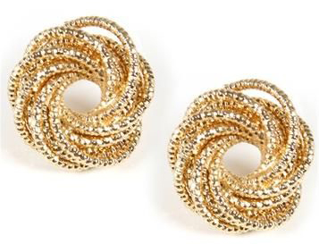 gold-coiled-stud-earrings