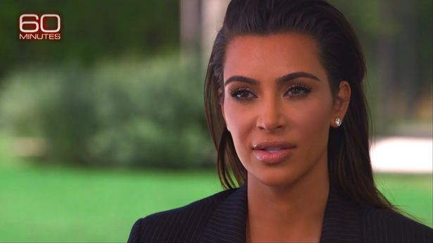 photo credit: Kim Kardashian on 60 minutes