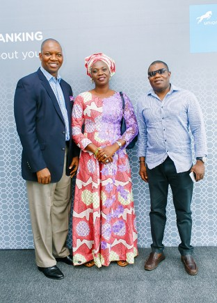 joe-mbulu-transformation-director-union-bank-with-guests-at-the-event