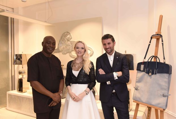 L-R-Michael-Owolabi-CEO-IL-Bagno-Julia-D.-Lantieri-CEO-Alter-Ego-Project-Group-at-the-launch-of-Alter-Ego-and-Davide-Doro-CEO-Alchymia-at-the-launch-of-Alter-Ego-Private-Atelier-in-Abuja