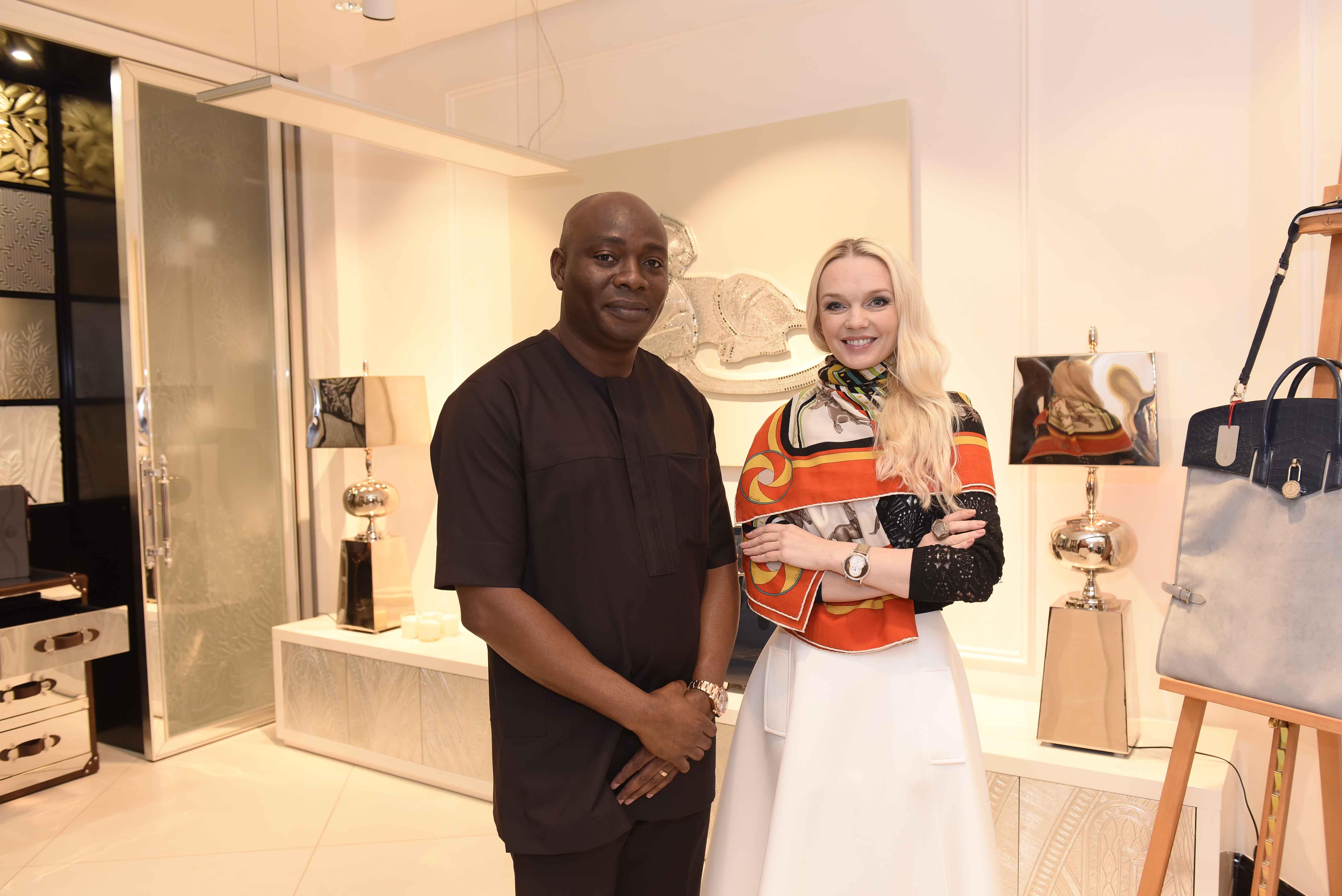 Nigerias Elite Welcomes Italian Luxury as Alter Ego Launches in Africa  Vanguard Allure