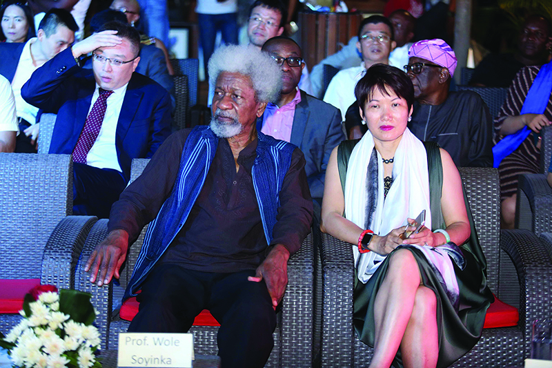 Nobel Laureate Professor Wole Soyinka