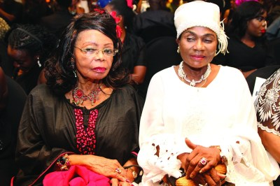 Opra Benson and Erelu Abiola