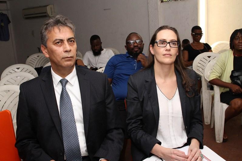 Selcuk Tanatar and Loretta Foran