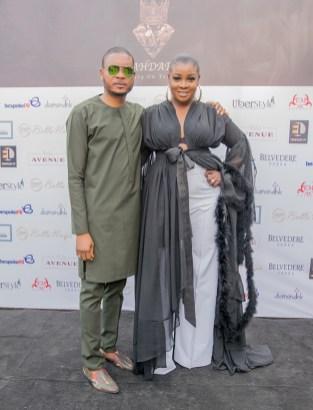 Shina Peller and Designer Sola Adepoju