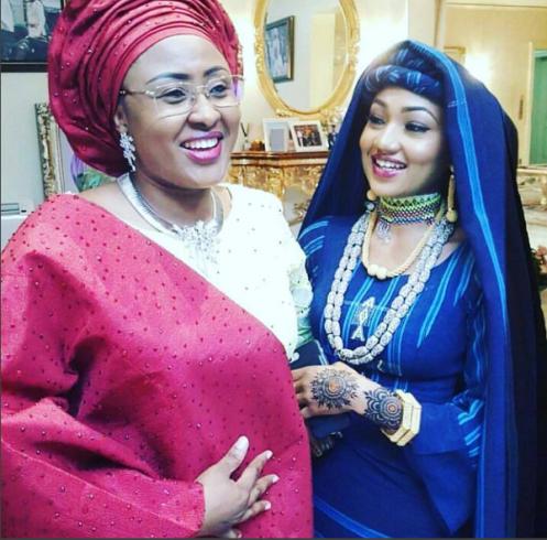 buhari-wife-daughter