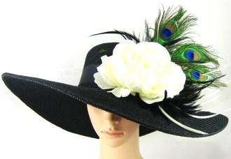 hats 4---black Kentucky hat