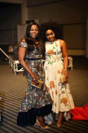 Funke Akindele-Bello and Rita Dominic
