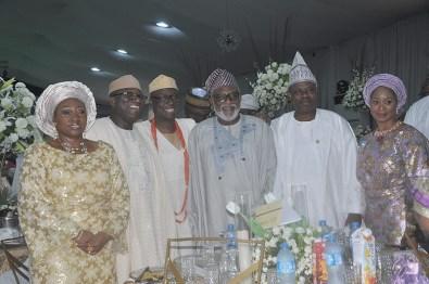 Bisi Fayemi, Kayode Fayemi, Otunba Niyi Adebayo,Gov. Rotimi Akeredolu ,Gov. Ibikunle Amosun and his wife Olufunso