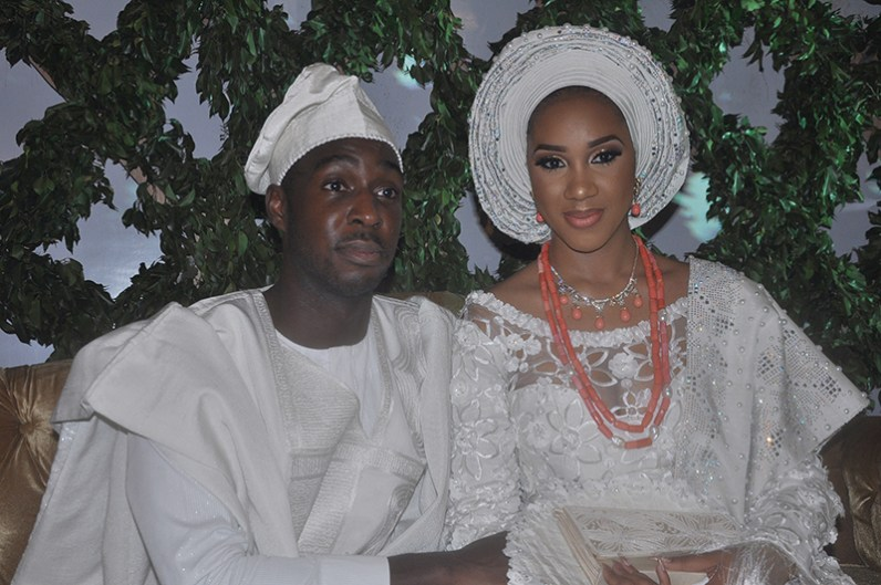 Richard Adebayo and his wife Reni..