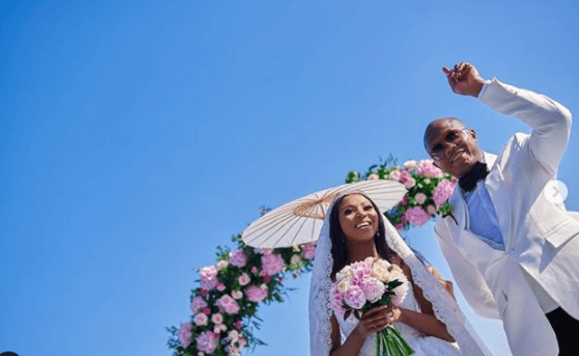 Stephanie Coker and Olumide Aderinokun celebrate wedding anniversary