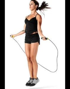 Jump ropes and lose 1,300 alories