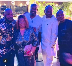Donjazzy Celebrates Mum on Her Birthday