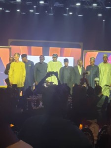 Dignitaries at Cuppy gold Gala for the less privileged Nigerian children