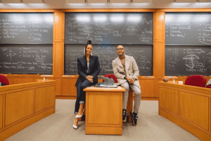 Alicia Keys and her husband Swiss Beatz presented a case study on their lives at Harvard business school