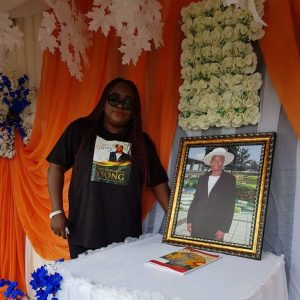 Emem Isong Misodi buries mom, months after losing father (Photos)