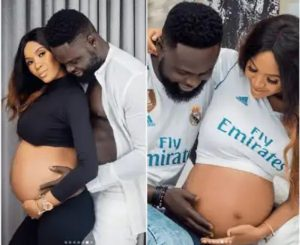 Fashion designer, Yomi Casual left in tears as he welcomes first son