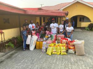 K20 Entertainment celebrates with Motherless babies to mark 6th anniversary (Photos)