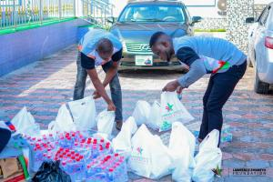 Lawrence Emareyo Foundation showers love to the poor, needy in Delta State
