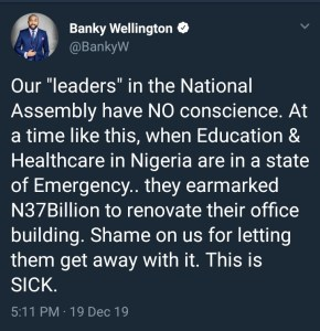 Our leaders in the national assembly have no conscience