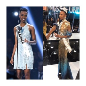 Beautiful Miss South Africa, Zozibini Tunzi crowned 2019 Miss Universe