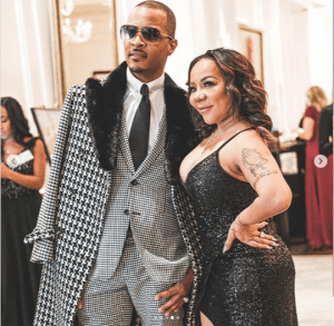 T. I writes lovely message to his wife Tiny.