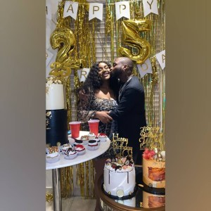 Lockdown didn't stop Davido's Chioma from celebrating her 25th birthday