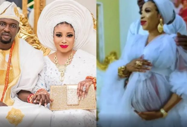 Lizzy Anjorin and husband, Lawal Lateef welcome first child in America