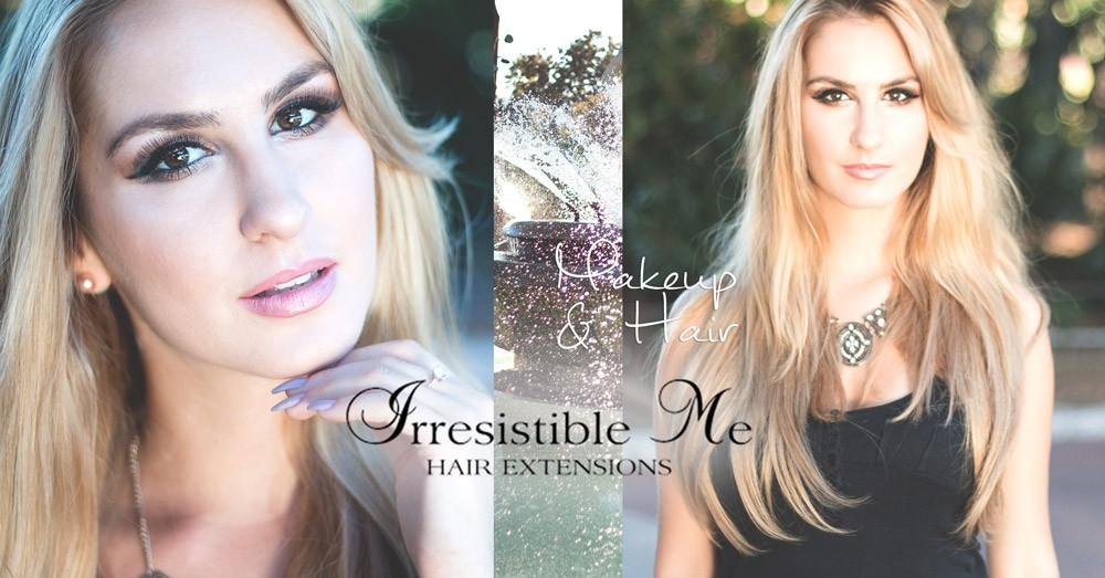 Makeup And Instant Long Hair Irresistible Me Hair Extensions Review