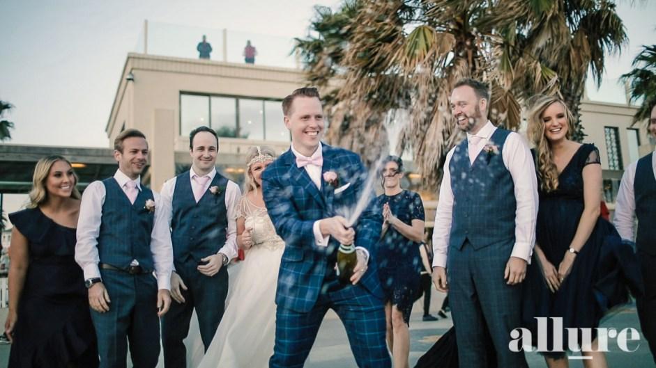Lara & Colby - Encore Wedding Video - Allure Productions 1