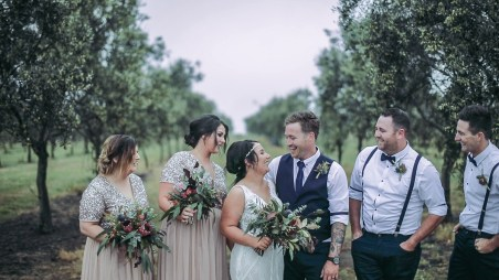 Shannon & Jose - Mt Duneed Estate Wedding video - Allure Productions 4