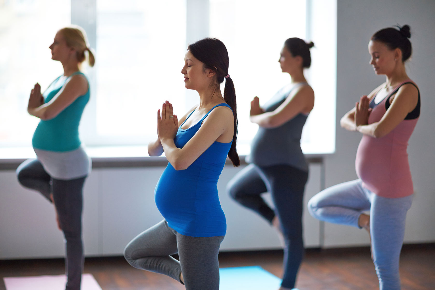 Yoga Modifications You Can Do While Pregnant | Janelle ...