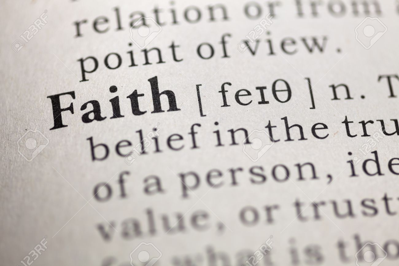 Faith - Dictionary definition