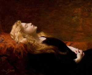 Sleeping Beauty painting by Victor Gabriel Gilbert - 5 Medical Symptoms Named After Literary Characters