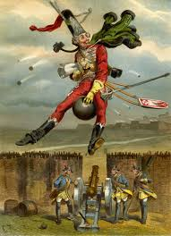 The Baron Munchausen, illustrated by Gottfried Franz.